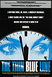 The Thin Blue Line (1988) cover
