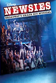 Disney's Newsies the Broadway Musical (2017) cover