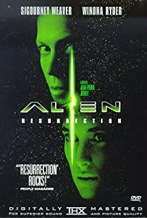 Alien: Resurrection (1997) cover