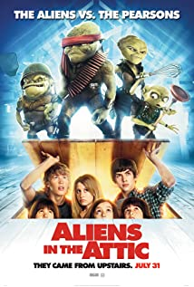 Aliens in the Attic (2009) cover