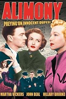 Alimony (1949) cover