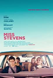 Miss Stevens (2016) cover