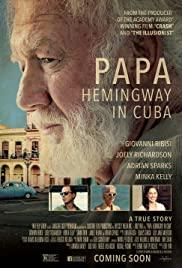 Papa Hemingway in Cuba 2015 poster