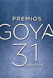 Premios Goya 31 edición (2017) cover