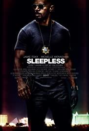 Sleepless (2017) cover