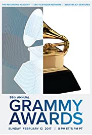The 59th Annual Grammy Awards 2017 poster