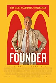 The Founder 2016 poster