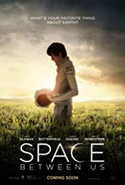 The Space Between Us (2017) cover
