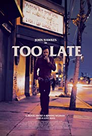 Too Late 2015 poster