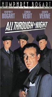 All Through the Night 1941 poster