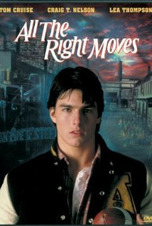 All the Right Moves 1983 poster