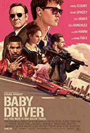 Baby Driver (2017) cover