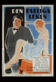 Den farliga leken (1933) cover