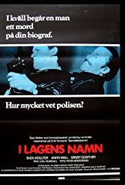 I lagens namn (1986) cover