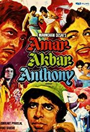 Amar Akbar Anthony (1977) cover