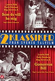 Som du vill ha mej (1943) cover