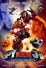Spy Kids 3: Game Over (2003) cover