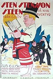 Sten Stensson Stéen från Eslöv på nya äventyr 1932 poster