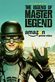 The Legend of Master Legend (2017) cover