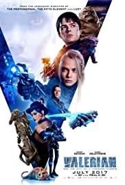 Valerian and the City of a Thousand Planets 2017 poster