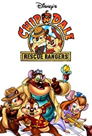 Chip 'n' Dale Rescue Rangers 1988 poster