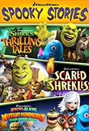 Dreamworks Spooky Stories 2012 poster