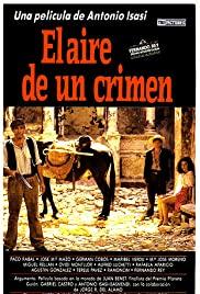El aire de un crimen (1988) cover