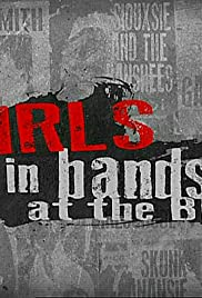Girls in Bands at the BBC 2015 poster