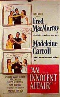 An Innocent Affair 1948 poster