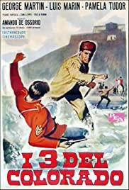 I tre del Colorado 1965 poster