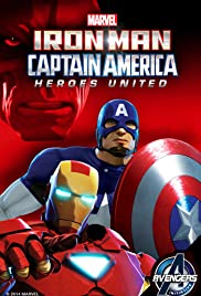 Iron Man and Captain America: Heroes United (2014) cover