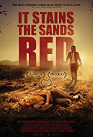 It Stains the Sands Red 2016 poster