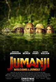 Jumanji: Welcome to the Jungle (2017) cover
