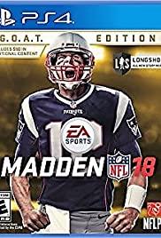 Madden NFL 18 (2017) cover