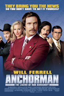 Anchorman: The Legend of Ron Burgundy 2004 poster