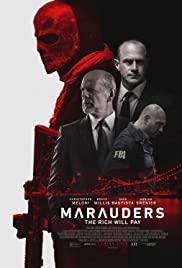Marauders (2016) cover