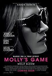 Molly's Game (2017) cover