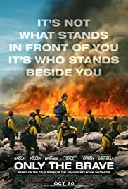 Only the Brave 2017 poster