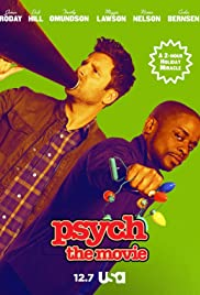 Psych: The Movie 2017 poster