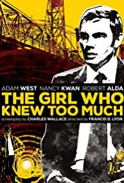 The Girl Who Knew Too Much 1969 poster