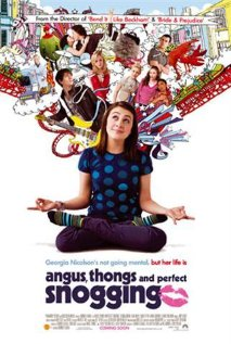 Angus, Thongs and Perfect Snogging (2008) cover