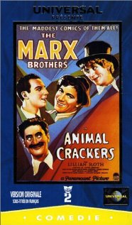 Animal Crackers (1930) cover