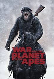 War for the Planet of the Apes (2017) cover