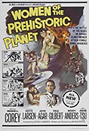 Women of the Prehistoric Planet (1966) cover