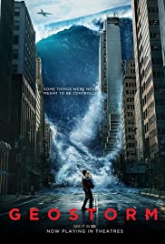 Geostorm (2017) cover