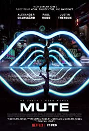 Mute 2018 poster