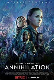 Annihilation (2018) cover