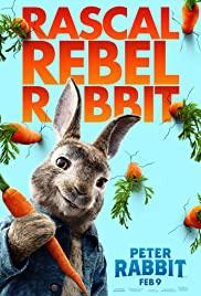 Peter Rabbit (2018) cover