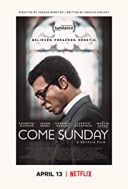Come Sunday 2018 poster