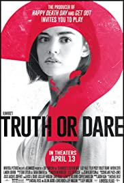 Truth or Dare (2018) cover